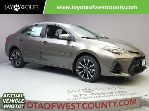 New 2018 TOYOTA COROLLA SE MANUAL Sedan