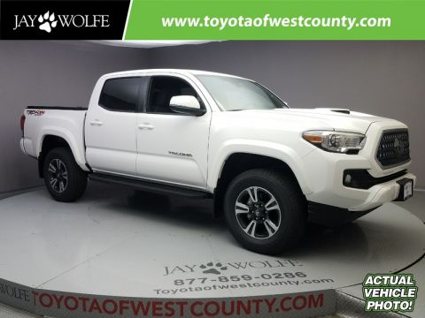 New TOYOTA TACOMA TRD OFF ROAD DOUBLE CAB 5' BED V6 4X4 MT
