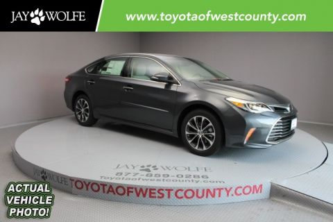 New 2018 Toyota Avalon XLE Premium 4D Sedan With Navigation