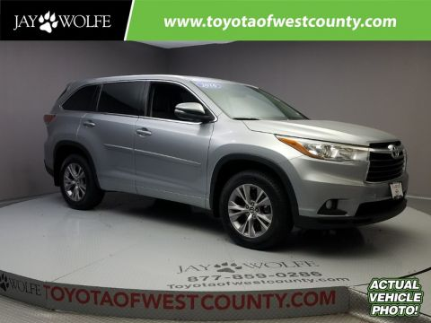 Certified Used TOYOTA Highlander AWD 4DR V6 LE PLUS