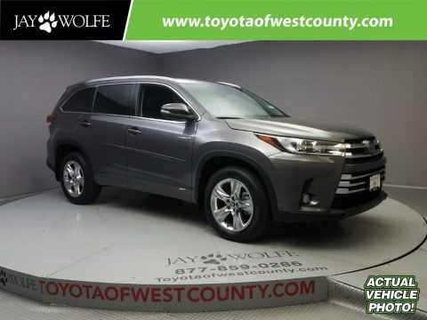 New TOYOTA HIGHLANDER HYBRID LIMITED V6 AWD