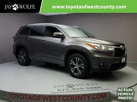 Certified Used TOYOTA Highlander AWD 4DR V6 XLE