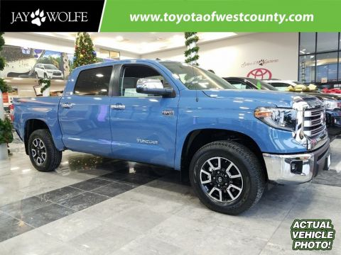 New 2018 TOYOTA TUNDRA LIMITED CREWMAX 5.5' BED 5.7L FFV CrewMax