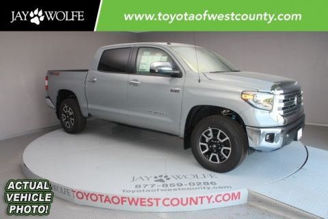 New 2018 TOYOTA TUNDRA LIMITED Short Bed CrewMax