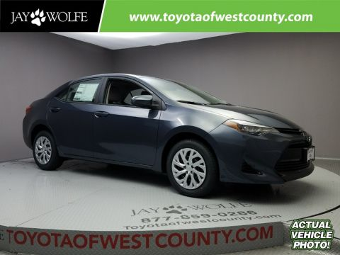 New 2018 TOYOTA COROLLA LE CVT Sedan