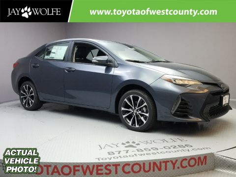 New 2018 TOYOTA COROLLA XSE CVT Sedan