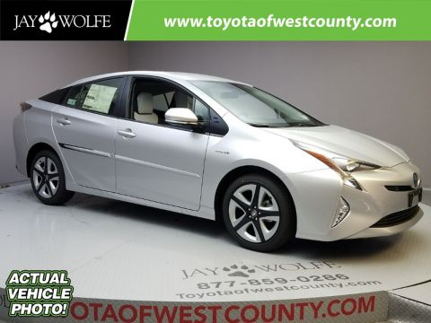 New 2017 TOYOTA PRIUS THREE TOURING Hatchback With Navigation