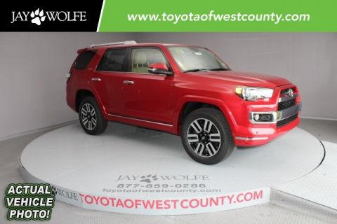 New 2017 Toyota 4Runner Limited 4D Sport Utility 4WD
