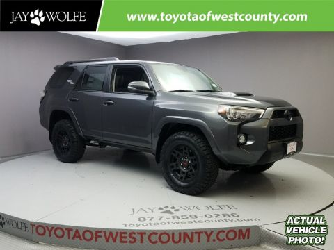 New 2018 TOYOTA 4RUNNER TRD OFF ROAD PREMIUM 4WD Sport Utility With Navigation