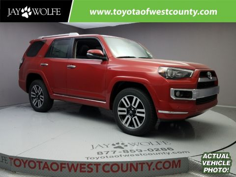 New 2018 TOYOTA 4RUNNER LIMITED 4WD Sport Utility