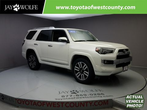Certified Used TOYOTA 4Runner 4WD 4DR V6 LIMITED