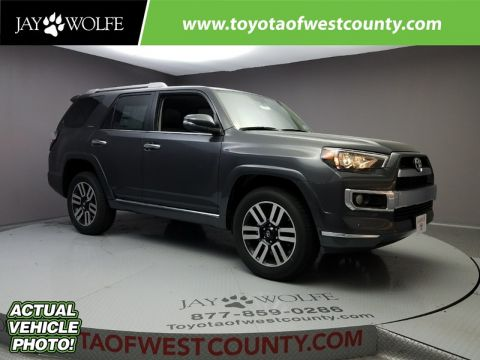New 2018 TOYOTA 4RUNNER LIMITED Sport Utility