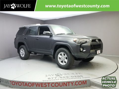 New 2018 TOYOTA 4RUNNER SR5 PREMIUM 4WD Sport Utility With Navigation