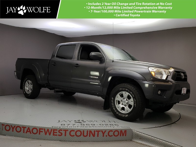 Certified Pre Owned 2013 TOYOTA Tacoma 4WD DOUBLE CAB LB V6 AT