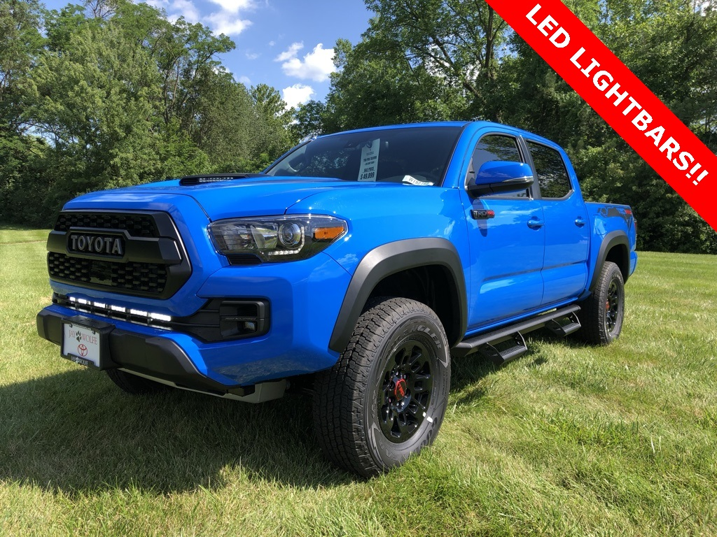 Bars In Tacoma >> New 2019 Toyota Tacoma Trd Pro With Led Light Bars 4d Double Cab