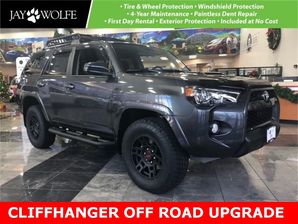 New 2019 Toyota 4Runner TRD Off-Road CLIFFHANGER EDITION