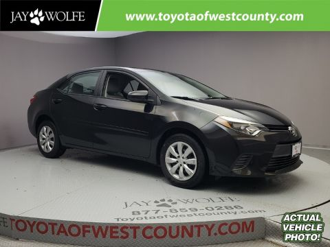 Certified Pre-Owned 2015 TOYOTA Corolla 4DR SDN CVT LE