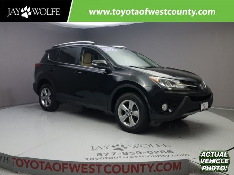 Certified Pre-Owned 2015 TOYOTA RAV4 AWD 4DR XLE
