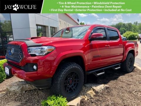 New 2019 Toyota Tacoma TRD Sport CARDINAL RED STEALTH