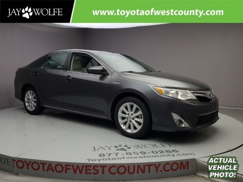 Certified Pre-Owned 2013 TOYOTA CAMRY HYBRID 4DR SDN XLE