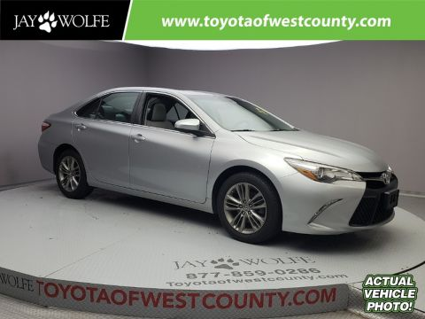Certified Pre-Owned 2015 TOYOTA Camry 4DR SDN I4 AUTO SE
