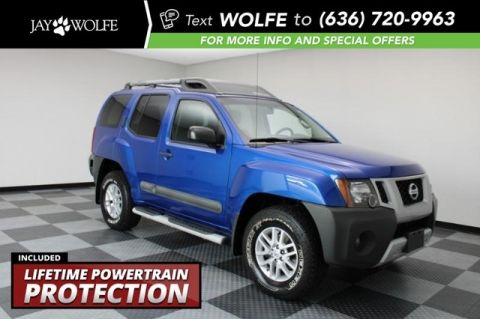 Pre-Owned 2015 Nissan Xterra S