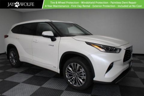 New 2020 Toyota Highlander Hybrid Platinum