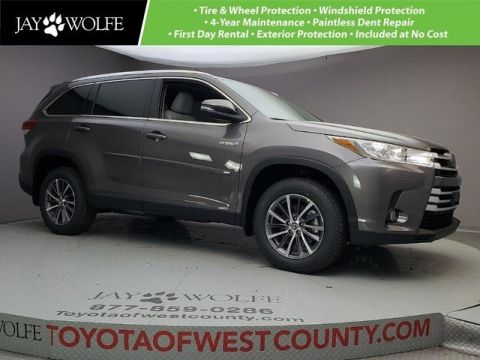 New 2019 Toyota Highlander Hybrid Xle 4d Sport Utility In Ballwin W190840 Jay Wolfe Of West County