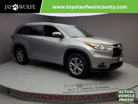 Certified Pre-Owned 2015 TOYOTA HIGHLANDER AWD 4DR V6 XLE