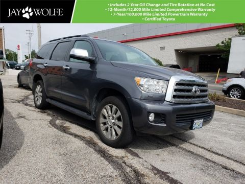 Certified Pre-Owned 2015 TOYOTA Sequoia 4WD 5.7L FFV LIMITED