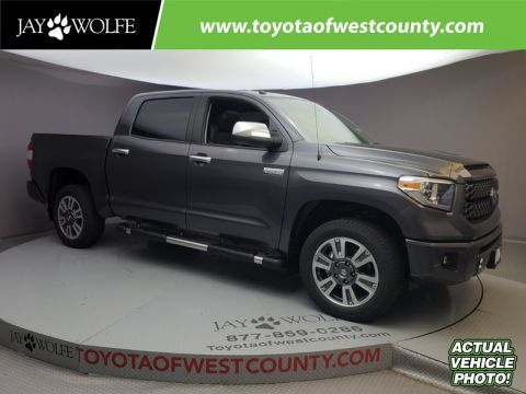 New 2018 TOYOTA TUNDRA PLATINUM CREWMAX 5.5' BED 5.7L FFV