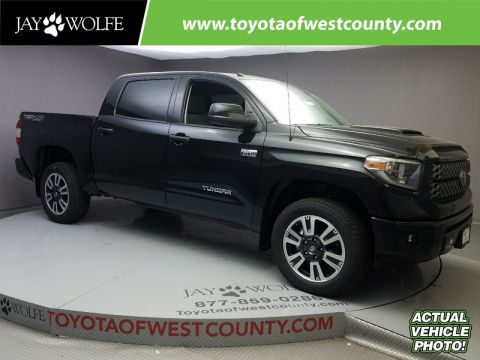 New 2018 TOYOTA TUNDRA SR5 CREWMAX 5.5' BED 5.7L FFV