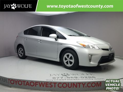 Certified Pre-Owned 2014 TOYOTA PRIUS 5DR HB THREE