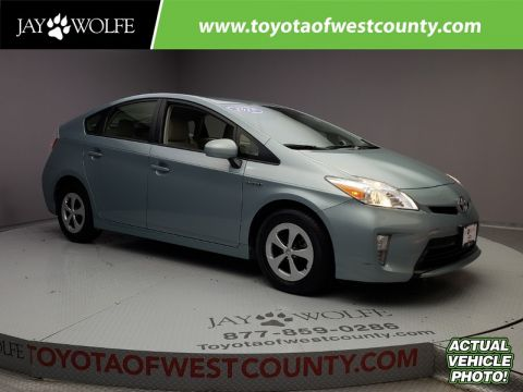 Certified Pre-Owned 2015 TOYOTA Prius 5DR HB TWO