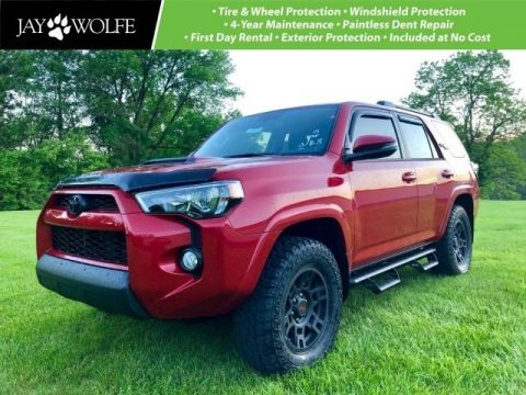 New 2019 Toyota 4Runner TRD Off-Road Premium CARDINAL RED STEALTH